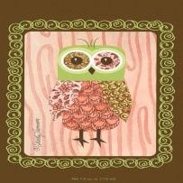 WILLOWBROOK 281 PINK OWL FRESH SCENT SACHET