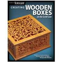 CREATING WOODEN BOXES ON THE SCROLL SAW BOOK
