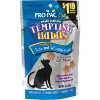 BCI 054294 3OZ TEMPTING TIDBITS FISH/TUNA