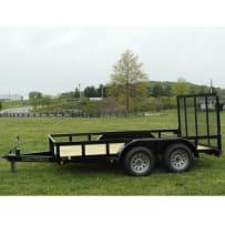 "Gatormade 6'10"" x 12 Tandem Axle Utility Trailer"