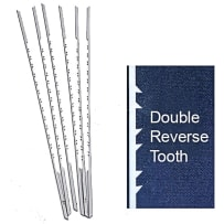OLSON PGT DOUBLE / REVERSE TOOTH SCROLL SAW BLADES - #9RG