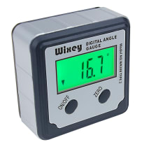 WIXEY #WR300 DIGITAL ANGLE GAUGE