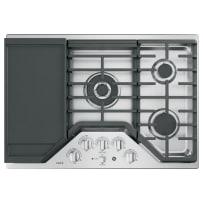 "GE Café™ Series 30"" Built-In Gas Cooktop"