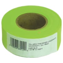 HILLMAN 845770 LIME FLAGGING TAPE