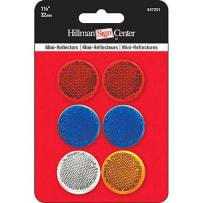 HILLMAN 847201 1-1/4 IN. MINI-REFLECTORS