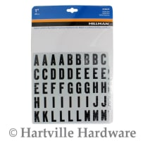 HILLMAN 848629 1 IN. REFLECTIVE LETTERS & NUMBERS KIT
