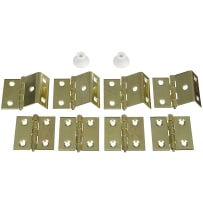 NATIONAL N269860 V474 SHUTTER HINGE KIT BRASS