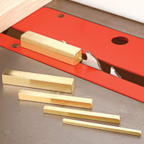 WHITESIDE #9800 BRASS BAR SET-UP KIT -  2-1/2""