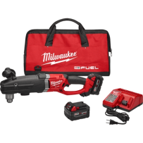 MILWAUKEE 2709-22 M18 FUEL SUPER HAWG 1/2 INCH RIGHT ANGLE DRILL KIT