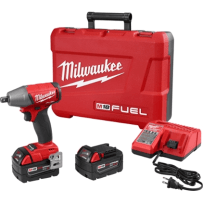 MILWAUKEE 2755-22 M18 FUEL 1/2 INCH COMPACT IMPACT WRENCH WITH PIN DETENT KIT