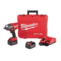 MILWAUKEE 2767-22 M18 FUEL HIGH TORQUE 1/2 INCH IMPACT WRENCH WITH FRICTION RING KIT