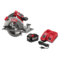 MILWAUKEE 48-59-1890 M18V FUEL CIRCULAR SAW W/9AH KIT