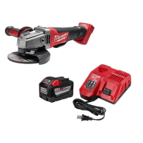 MILWAUKEE 48-59-1890PG M18 HD 9.0AH STARTER KIT WITH 4-1/2 - 5 INCH GRINDER