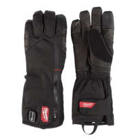 MILWAUKEE 561-21M USB RECHARGEABLE HEATED GLOVES BLACK MEDIUM