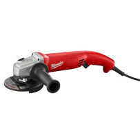 """11 Amp 5""""   Small Angle Grinder  Trigger Grip, AC/DC"""