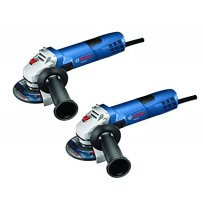 BOSCH GWS8-45-2P 4-1/2 INCH SMALL ANGLE GRINDER 2 PACK BLUE