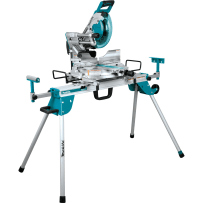 "MAKITA LS1019LX 10"" Dual?Bevel Sliding Compound Miter Saw with Laser and Stand"