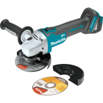 "MAKITA XAG04Z 18V LXT® Lithium?Ion Brushless Cordless 4?1/2"" / 5"" Cut?Off/Angle Grinder, Tool Only"