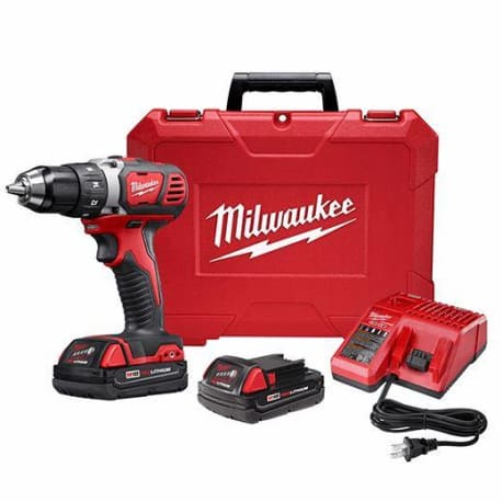 Milwaukee M18 Compact 1/2 Inch Drill Driver Kit