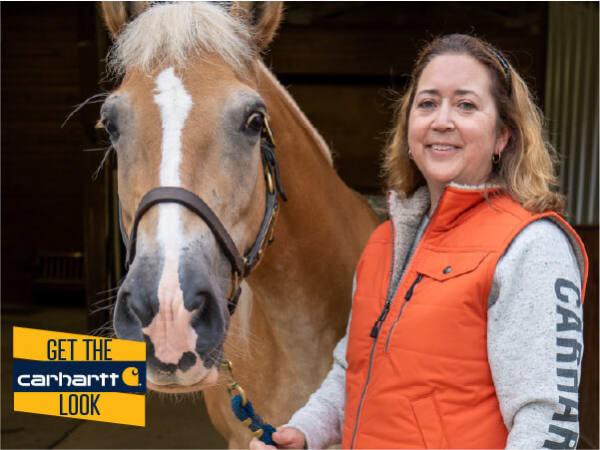 Missy Howard & a horse