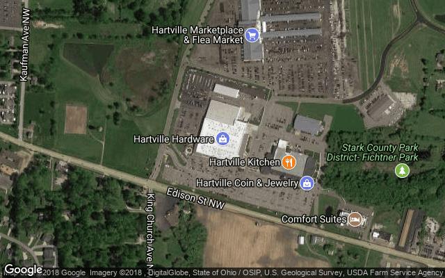 Google Map of Hartville Hardware