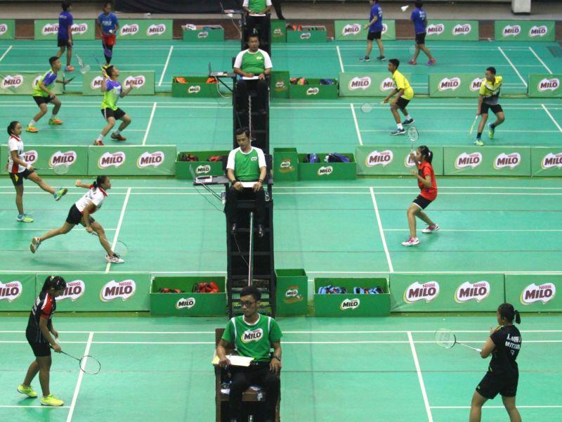 SIRNAS-MILO Badminton Competition Malang: Denis Azzarya Melaju ke Babak Semifinal Tunggal Putra Kategori Usia U-11