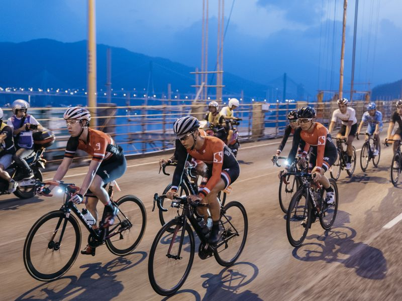 First UCI Asia Tour Class 1.1 Road Race Flares Cycling Fever in Hong Kong Cyclothon