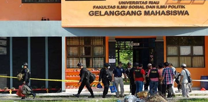 Tiga Terduga Teroris Sasar Gedung DPR dan DPRD Riau