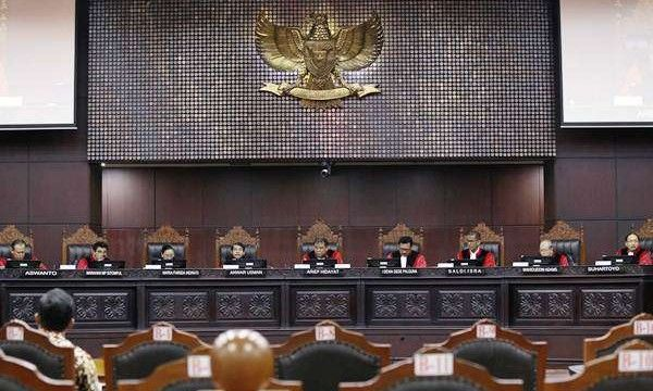 MK Kabulkan Sebagian Uji Materi UU MD3