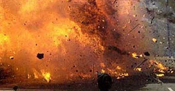 Bom Meledak di Kawasan Gereja Santa Maria Surabaya