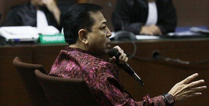 Setya Novanto Tak Ajukan Banding karena Lelah
