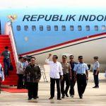 Pesawat Kepresidenan Indonesia 1 Mendarat Pertama Kali di Bandara Kertajati