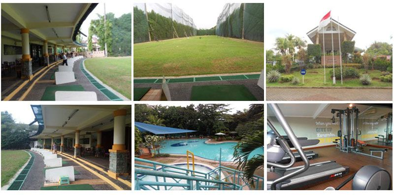 Berlatih Sambil Bersantai di Driving Range Klub Tamansari Persada Raya Jatibening & Bali View Cirendeu
