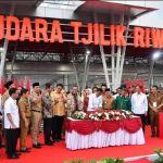 Jokowi Resmikan Bandara Tjilik Riwut