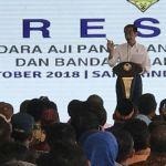Jokowi Resmikan 2 Bandara Baru di Kaltim