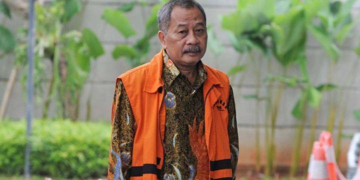 Mantan Ketua PT Manado Sudiwardono Divonis 6 Tahun Penjara karena Suap