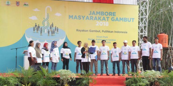 Jambore Masyarakat Gambut 2018 Canangkan Deklarasi Banjar untuk Cegah Kebakaran