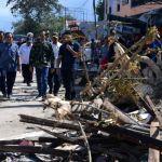 Jokowi Kunjungi Lokasi Terdampak Gempa dan Tsunami