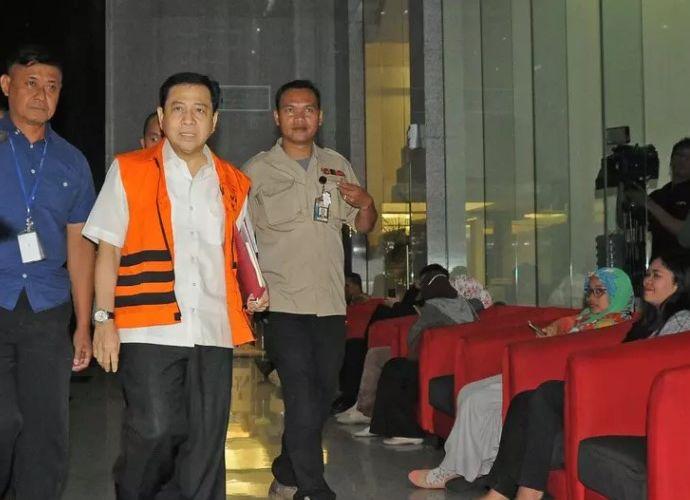 KPK Periksa Setya Novanto untuk Tersangka Anang Sugiana