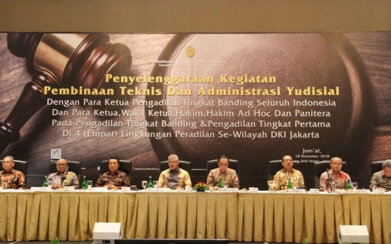 MA Gelar Pembinaan Teknis dan Administrasi Yudisial se-DKI