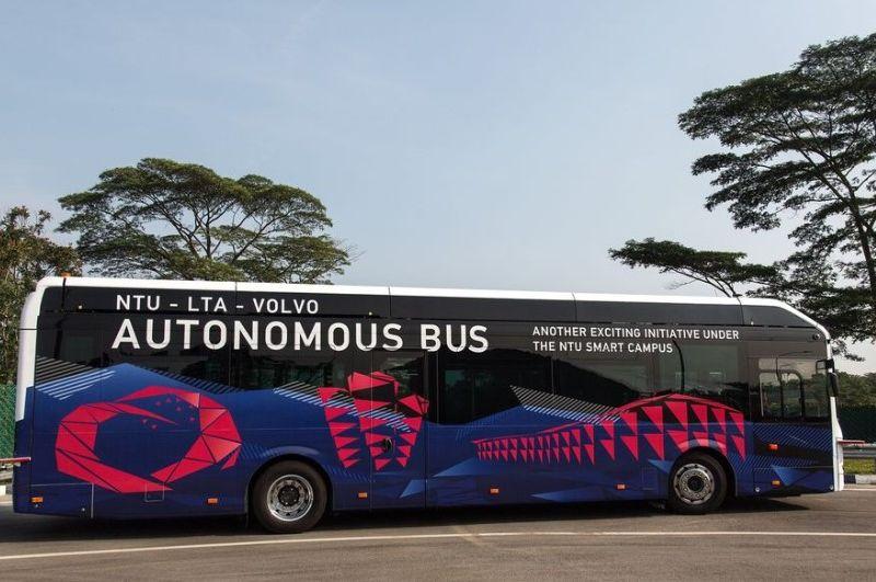 Singapura Mulai Uji Coba Bus Tanpa Sopir
