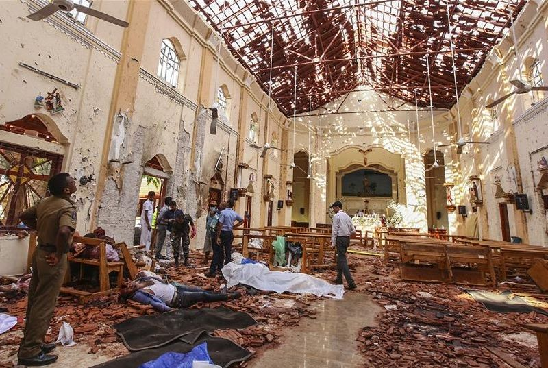 Indonesia Kutuk Serangan Mematikan terhadap Gereja dan Hotel di Sri Lanka