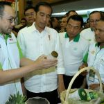 Jokowi Kunjungi Pameran Agrikultur Asia yang Digelar HKTI