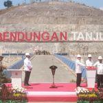 Jokowi Resmikan Bendungan Tanju, NTB