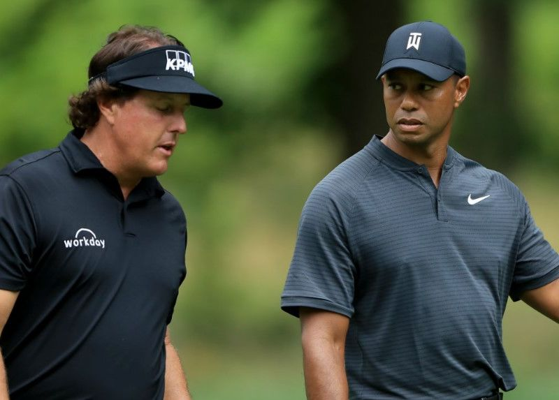 Phil Mickelson Senang Dianggap Underdog Lawan Tiger Woods