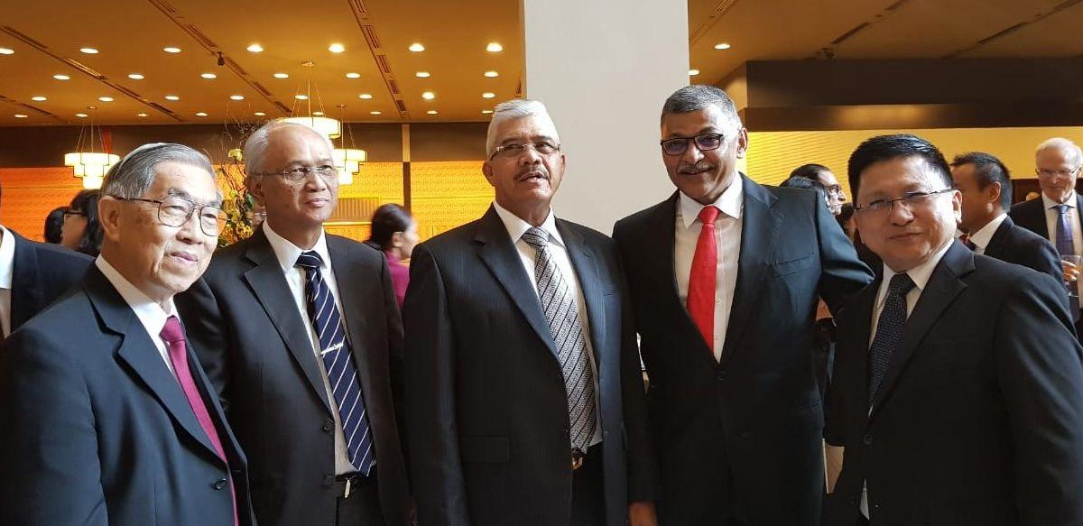 Ketua MA Hadiri Opening Legal Year 2019 Singapura