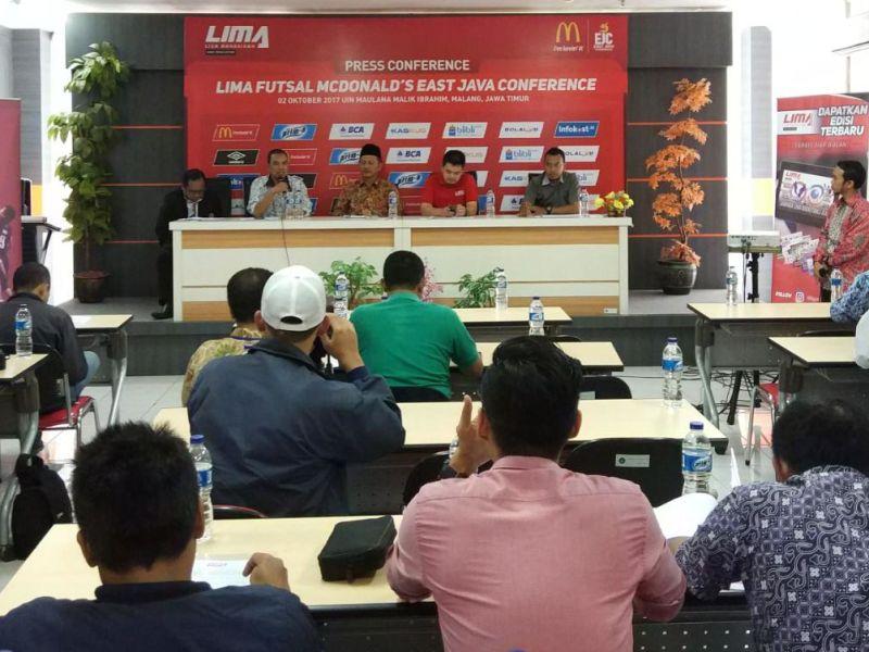 LIMA Futsal: McDonald's East Java Conference 2017 Siap Digelar di Malang
