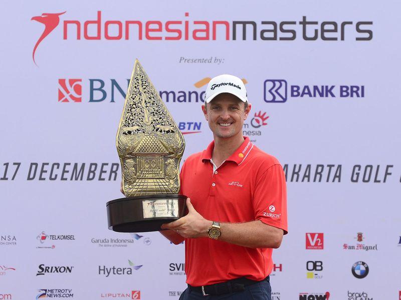 Justin Rose Raih Gelar Indonesian Masters