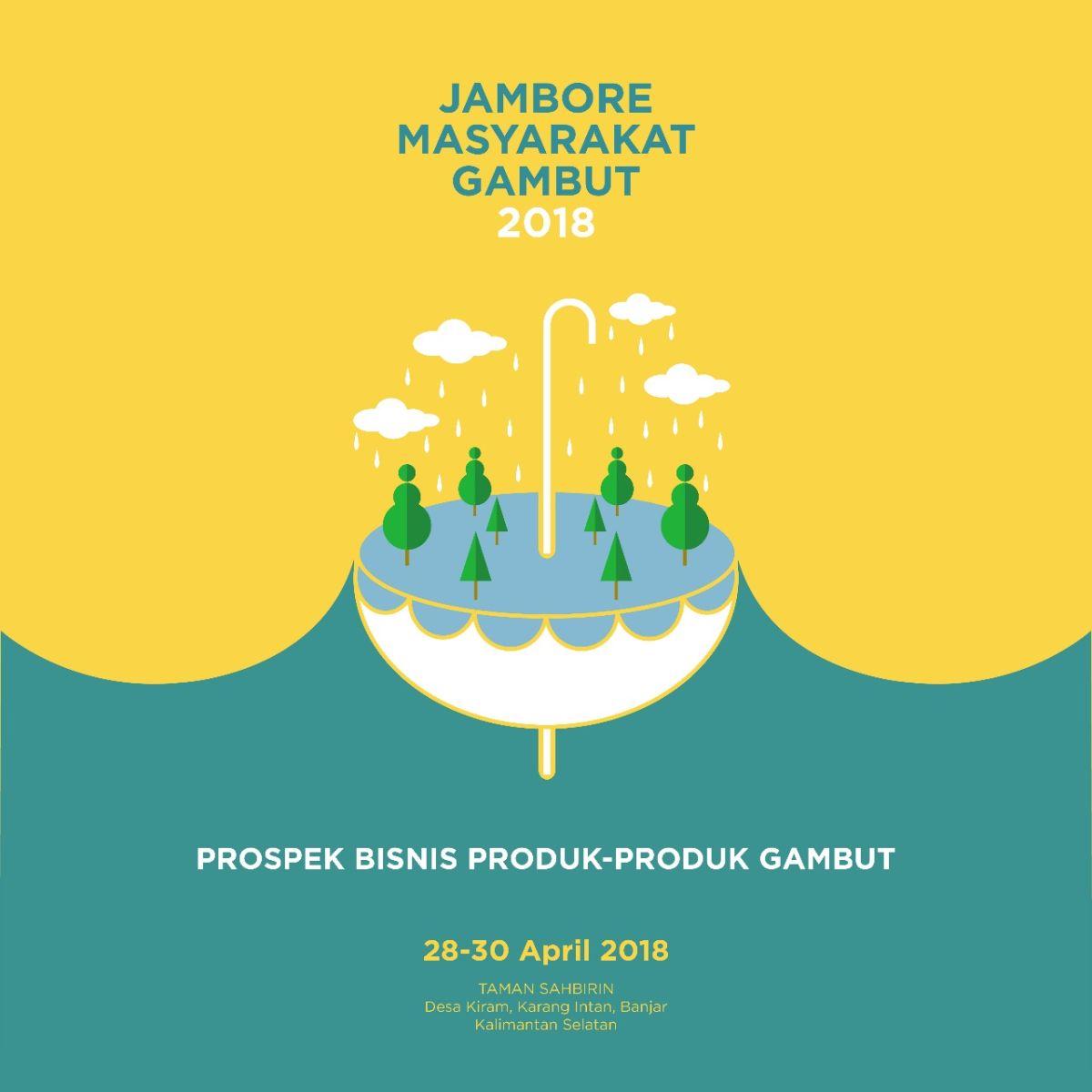 Jambore Masyarakat Gambut Dirayakan di Kalsel 28-30 April