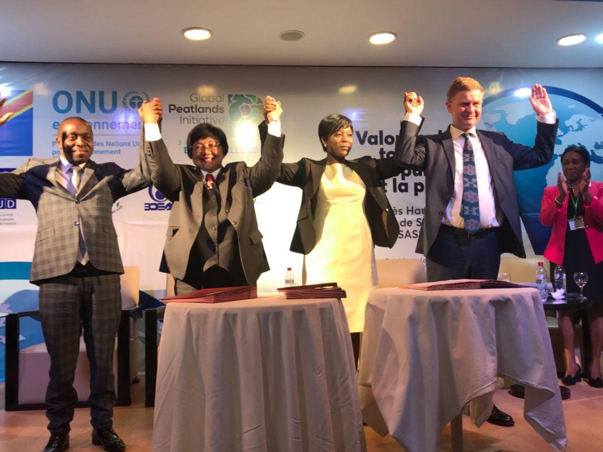 Indonesia Jadi Referensi Restorasi Gambut Basin Kongo